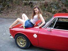Risultati immagini per alfa romeo e donne #alfaromeogirl