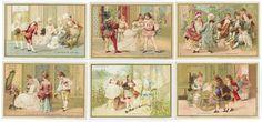 CHROMOS BON MARCHÉ - 1889/1891 - LES ETAPES de la VIE dans la SOCIETÉ du XVIIIe[...] | Auction.fr