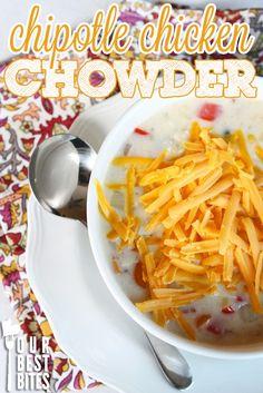 Chicken Chipotle Chowder - Our Best Bites