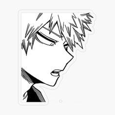 Bakugou sticker sticker by bnha in 2021 anime stickers