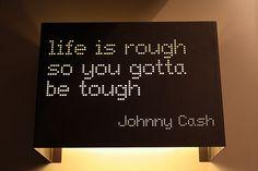 stay tough