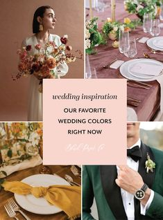 Autumn Wedding, Blue Wedding, Wedding Colors, Emerald Green Weddings, Pink Weddings, Garden Wedding Inspiration, Wedding Ideas, Blush Wedding Invitations, Boho Wedding Decorations