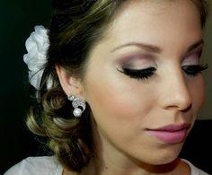 cabelo e make noiva, por Luciane Ferraes