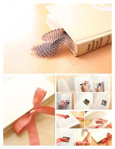 Tutorial Vintage Book Wedding Ring Holder Best Wedding ring
