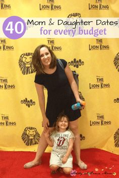 Go to a play. One of 40 Mom & Daughter Dates for Every Budget.