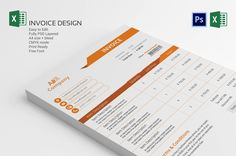 Invoice By Cristal P Invoice Template Designis Very Easy To Use