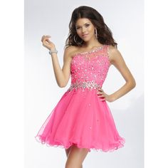 Corset Pink Short Fitted Formal Dresses