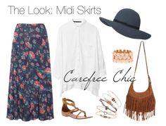 Midi Skirt: Boho