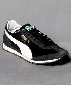 Neu bei Numelo: der Puma SF77 Vntg Suede in Black - http://www.numelo.com/puma-sf77-vntg-suede-p-24511634.html #puma #sf77vntgsuede #laufschuhe #sneaker #numelo