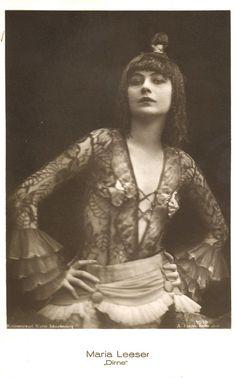 Maria Leeser, Berlin, 1920s. Via cardboy1 on flickr
