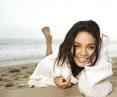 Vanessa Hudgens Sexy Beach Photoshoot HD Wallpaper