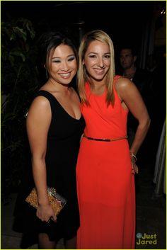 Jenna Ushkowitz and Vanessa Lengies: Glee 100th Celebration