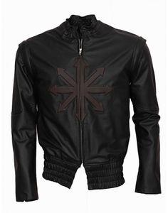 #SaturdayKitchen #parkrun #EasterSaturday The-Three-Musketeers-D'Artagnan-Logan-Lerman-Celebrity-Black-leather-Jacket