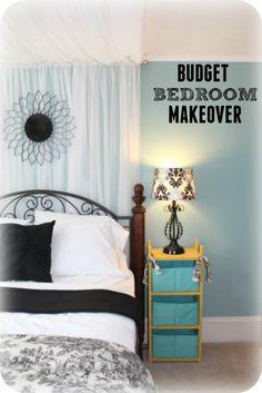 Budget bedroom ideas - My designer bedroom makeover for under $100!