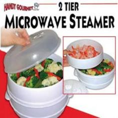 This incredible steamer will help you prepare healthy meals in minutes. affiliate