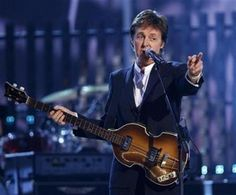 One Day I'll see Paul McCartney in concert. The older he gets the more nervous I get that I'm running outta town. Although, he's looking FABULOUS, so chances are he'll outlive me! :)