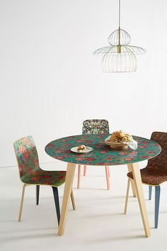 Small Round Dining Room Table New 20 Small Dining Tables — Buy Small Dining Table Diy Dining Table, Dining Chairs, Dining Set, Dining Rooms, Kitchen Tables, Feng Shui Dining Room, Diy Esstisch, Small Dining, Small Tables