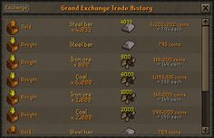 Logging into alt account that I used to run blast furnace with. RIP steel bars :(