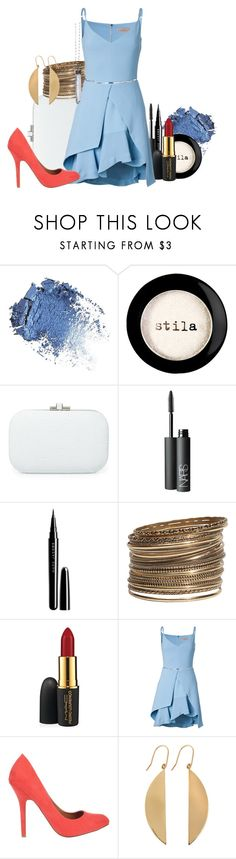 """Cocktail Party - Kida"" by alexxhutcherson ❤ liked on Polyvore featuring moda, Stila, Judith Leiber, NARS Cosmetics, Marc Jacobs, H&M, MAC Cosmetics, Preen, SPURR y Lana"