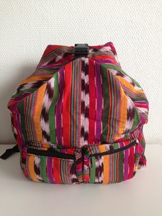 Handmade backpack from Guatemala