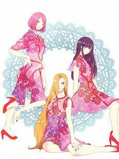 Hinata, Sakura and Ino