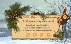 vanoce_vanocni_prani Christmas Wishes, Merry Christmas, Christmas Ornaments, Happy Birthday Pictures, Place Card Holders, Holiday Decor, Big Shot, Advent, Humor