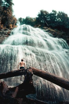 in the water and on to adventure #explore #waterfall #nature