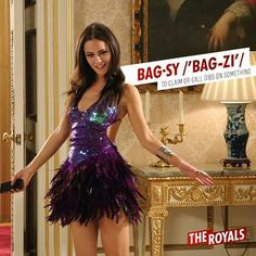 My new fashion obsession: Princess Eleanor, played by Alexandra Park, in E!'s 'The Royals. Alexandra Park, Royal Tv Show, Save The Queen, Queen B, Prom Dresses, Formal Dresses, Woman Crush, New Fashion, Royals