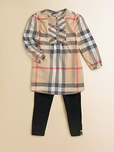 Burberry Toddler's Smock Front Check dress/tunic. It was love @ first site when I saw it @Nordy. So I got it & dont regret it! I love kids fashion!