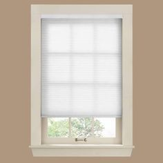 white pull down shade for window google search