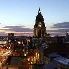 Our home city! The jewel of Yorkshire. #Leeds