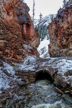 The Red Gates, Altai, Siberia, Russia.