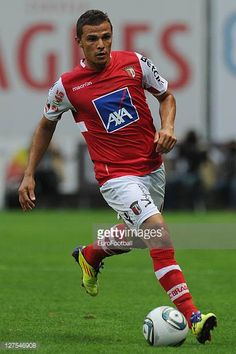 Lima of SC Braga in action during the Liga Portugal match between SC Braga and CD Nacional at the Estadio Municipal de Braga on September 25 2011 in. Sc Braga, Lima, Portugal, September, Action, Running, Sports, Pictures, Racing