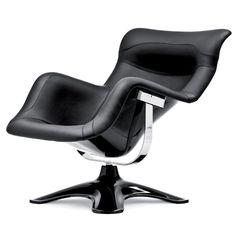 Futuristic Furniture, Modern Armchair, by Finnish designer Yrjö Kukkapuro: 1965 Karuselli (carousel) armchair Futuristic Interior, Futuristic Furniture, Lounge Sofa, Sofa Chair, My Furniture, Furniture Design, Modern Armchair, Modern Chairs, Take A Seat