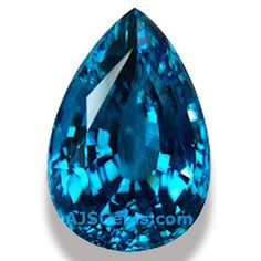 Blue Zircon, December's classic birthstone is making a comeback with its mesmerizing and metallic shimmer Crystals And Gemstones, Loose Gemstones, Diamond Alternatives, Blue Zircon, Blue Flowers, Birthstones, Gemstone Jewelry, Opal, Gem Stones