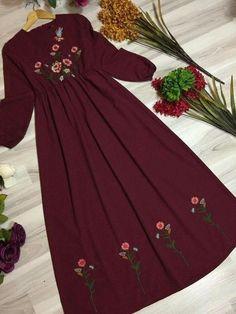 Best Trendy Outfits Part 34 Stylish Dress Designs, Designs For Dresses, Stylish Dresses, Cute Dresses, Casual Dresses, Trendy Outfits, Muslim Fashion, Modest Fashion, Hijab Fashion