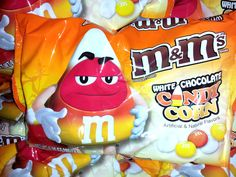 Candy Corn M & Ms!