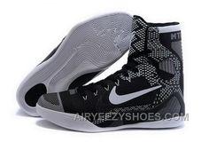 4f2419dade3 Buy Cheap Nike Kobe 9 High 2015 Black January Black White Mens Shoes For  Sale 5scKBN
