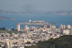 San Francisco: Alcatraz desde Twin Peaks