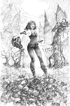Death from Sandman Commission by quahkm on deviantART