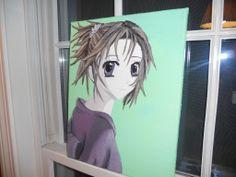 anime (oil on canvas)
