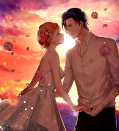 Uta no Prince Sama ♪♫•*¨*•.¸¸❤¸¸.•*¨*•♫♪ Masato Hijirikawa x Haruka Nanami #Otome #Anime #Game