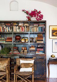 49 Ideas For Home Office Boho Shelves Home Libraries, Interior Decorating, Interior Design, Interior Architecture, Home And Deco, Wabi Sabi, Home Fashion, Interior And Exterior, Home Office
