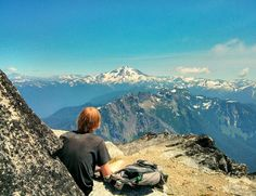 Mount Pugh. North Cascades -- Mountain Loop Highway. Roundtrip 11.0 miles, Elevation Gain 5300 ft, Highest Point 7201 ft.