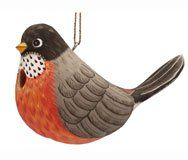 Birdhouses  Songbird Essentials SE3880309 Fat Robin Birdhouse (Set of 1) Backyard makeover