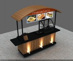 Unique Kiosk is a Professional Food Cart Manufacturer, We Supply Custom Bike Food Cart For Sale, Mobile Concession Stand Design For USA & Canada. Mobile Coffee Cart, Mobile Coffee Shop, Mobile Food Cart, Food Stall Design, Food Cart Design, Cafe Shop Design, Kiosk Design, Mini Cafeteria, Food Carts For Sale