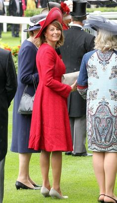 Carole Middleton Photo - Ladies Day at Royal Ascot