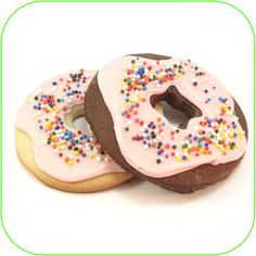 mmmm…. doughnut cookies | The Decorated Cookie