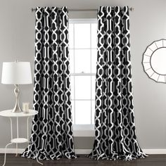 Lush Decor sells a variety modern curtains, such as the Edward Trellis Room Darkening Window Curtain Panel Set online. To view our selection, head over to our website today! No Sew Curtains, Thermal Curtains, Grommet Curtains, Blackout Curtains, Window Curtains, Target Curtains, Pattern Curtains, Room Window, Bedroom Curtains