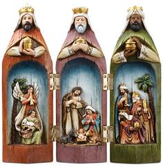 Napco Three Wise Men Nativity Set #sponsored #affiliate